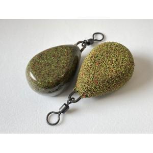 Lime Green Flat Pear