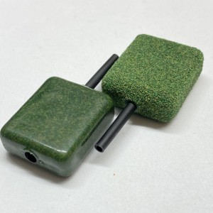 Weedy Green Inline Square