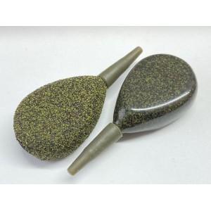 Silty Green Inline Flat Pear
