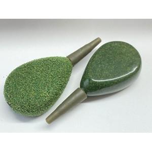 Weedy Green Inline Flat Pear