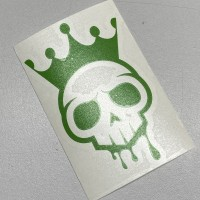 Green Voodoo Logo Sticker