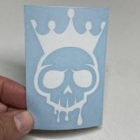 White Voodoo Logo Sticker